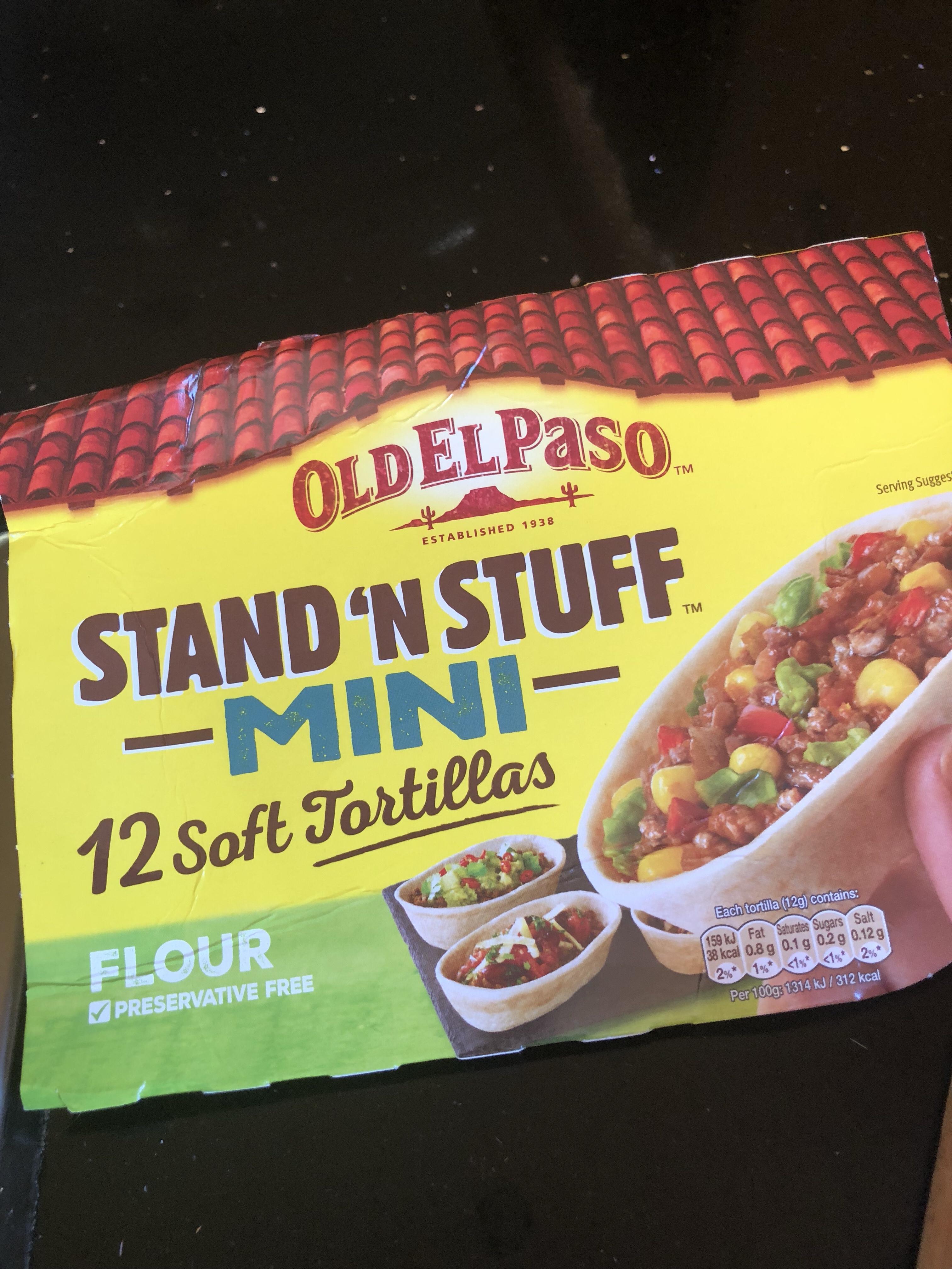 Mini stand n stuff tortillas