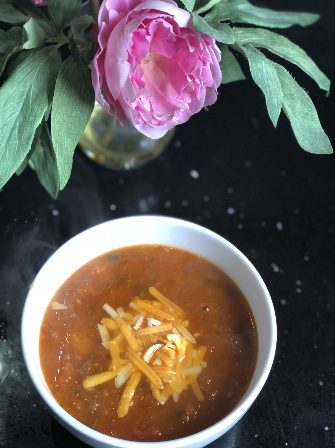 Toasted_tomato_and_speed_vegetable_soup_with_balsamic